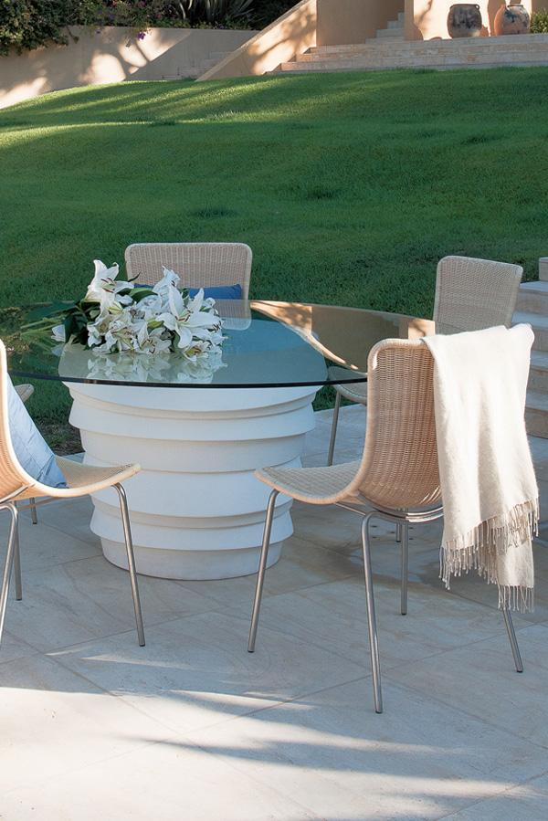 Bienenstein Concepts Projects Furniture Janus Et Cie Fibonacci Collection  Fondo Table White Ava Side Chair