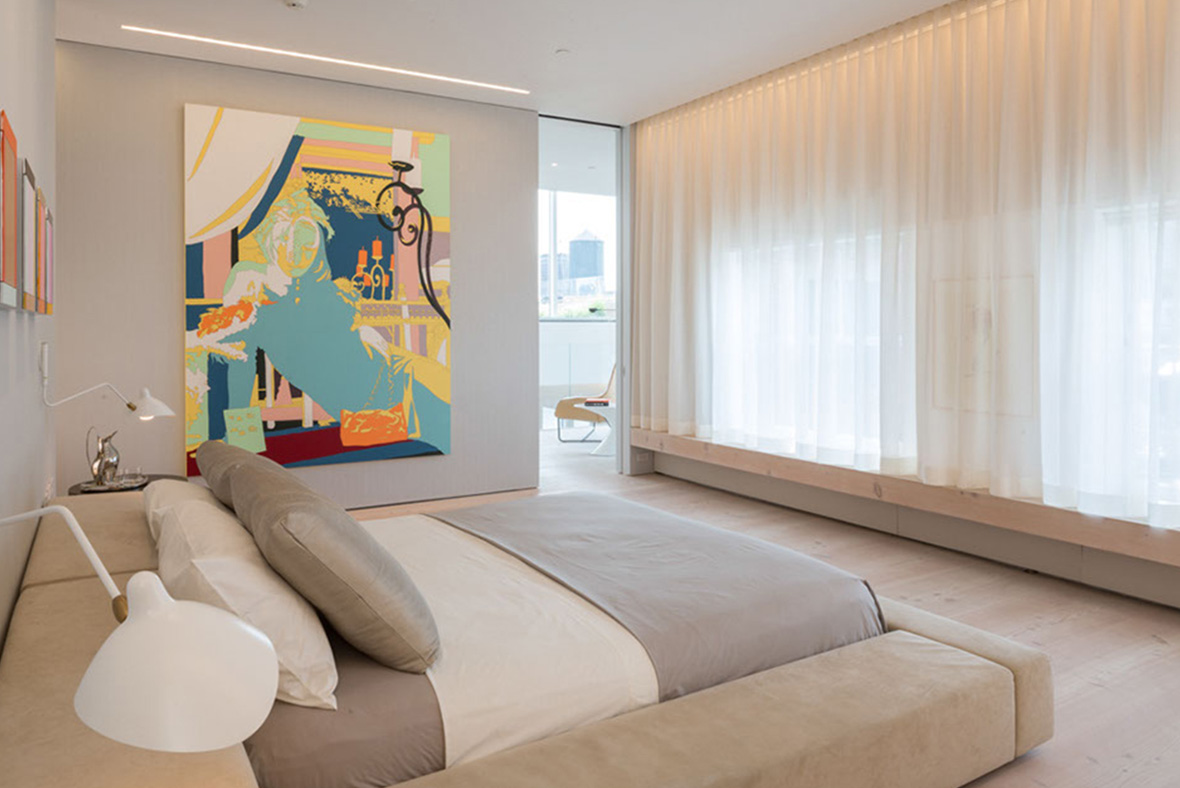 bienenstein concepts projects residential soho loft nyc bedroom