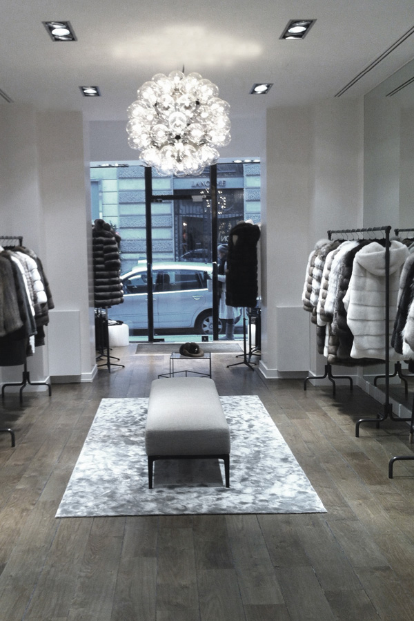 bienenstein concepts projects retail yvessalomon store faubourg paris 5