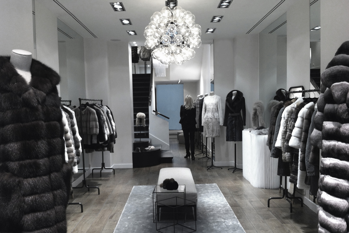 bienenstein concepts projects retail yvessalomon store faubourg paris 7